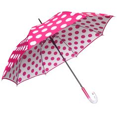 Clifton Double Cover Dot Series Pink - Available now at Umbrellas & Parasols