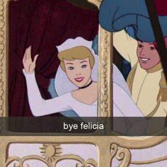 Bye Cinderella