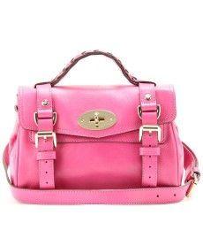 a865f75e5398 MINI ALEXA SOFT LEATHER HANDBAG by Mulberry Soft Leather Handbags