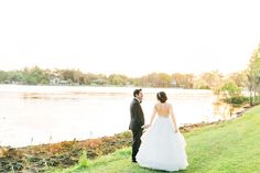 """The """"Dori"""" gown by Hayley Paige / Cypress Grove Estate House Wedding"""
