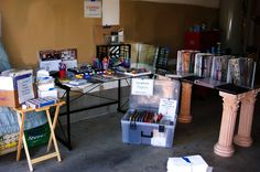 How To Set Up Your Yard Sale Space & Display Your Items For Sale | The Household Tips Guide