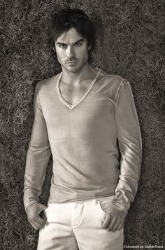 Ian Somerhalder = Damon Salvatore @  #VampireDiaries <3