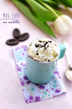 Mug Cake au Nutella | Stephatable