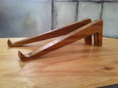 Bamboo Laptop Stand by BlakesWorks on Etsy, $11.00