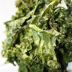 Healthy Snack Recipe - Baked Kale Chips