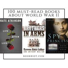 100 Must-Read World War II Books | bookriot.com