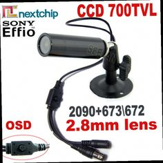 41.36$  Buy now - http://alif5m.worldwells.pw/go.php?t=32376434558 - 700TVL SONY 673\672+Nextchip2090 OSD menu mini Bullet camera mini ccd Outdoor Waterproof 2.8MM CCTV Security Camera for 960H DVR 41.36$