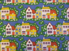 Jonelle 'Daisy Walk' 1960s fabric - available from Rainbow Vintage Home online shop
