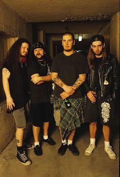 Pantera back in the day. RIP Dimebag.