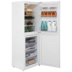 Beko CS6914APW 50/50 Fridge Freezer - White