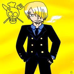 Rafael Merce: Desenho - Sanji - One Piece
