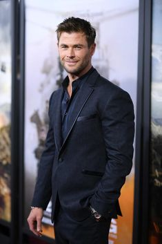 Chris Hemsworth at premiere of 12 Strong.