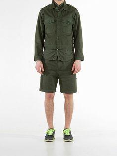 Giacchetta   Dark Green Garment Dye