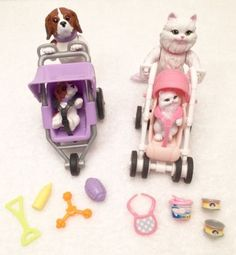 Barbie Posh Pets Dog And Puppy