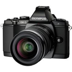 Olympus OM-D E-M5 16.1 Megapixel Mirrorless Camera (Body with Lens Ki | Overstock™ Shopping - Great Deals on Point & Shoot Cameras