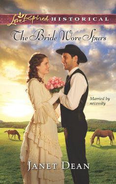 Janet Dean - The Bride Wore Spurs/ https://www.goodreads.com/book/show/16116377-the-bride-wore-spurs?from_search=true&search_version=service