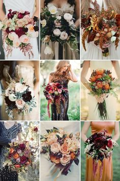 fall wedding bouquets for autumn wedding ideas