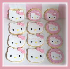 Virginias Cake: Galletas Hello Kitty Julia