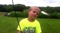 Kid Archer Fires an Incredible Over-the-shoulder Shot