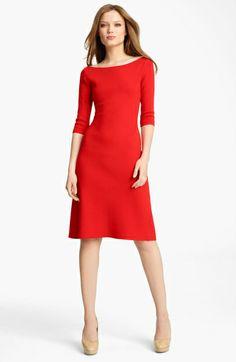 Blumarine Sponge Dress Got in Red and Black. Best dresses ever!