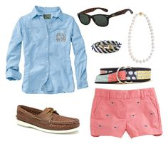 """Casual"" by americanhorse ❤ liked on Polyvore featuring Vineyard Vines, Woolrich, Sperry Top-Sider, Cobra & Bellamy, Kiel James Patrick, women's clothing, women, female, woman and misses"