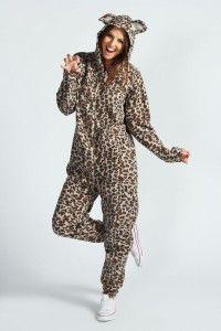 onesie luipaard