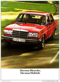 Original-Werbung/ Anzeige 1976 - 3 x 1/1-SEITE - MERCEDES-BENZ - 3 x ca. 180 X 240 mm
