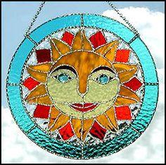 Suncatcher vidrieras arte en vidrio por StainedGlassDelight