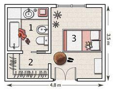 Master Walk In Closet Layout Design Bedrooms 38 Ideas