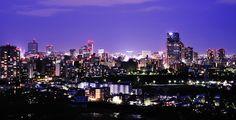 仙台の夜景 Sendai night view
