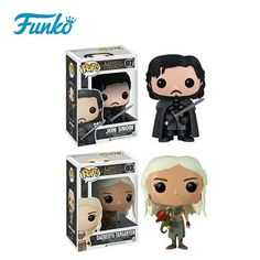 Glorious Funko Pop Game Of Thrones Daenerys Stormborn Jon Snow Night King 10cm Action Figure Collection Pvc Model Toy For Christmas Gift Novelty & Special Use