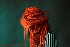 Filthy's Synthetic Dreads Too fabuloso! Dread Hairstyles, Cool Hairstyles, Synthetic Dreadlocks, Dreads Styles, Ginger Hair, Hair Today, Hair Dos, Hair Inspiration, Natural Hair Styles