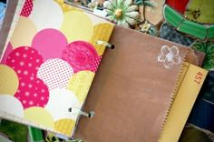 Love the idea of incorporating paper bags into a journal