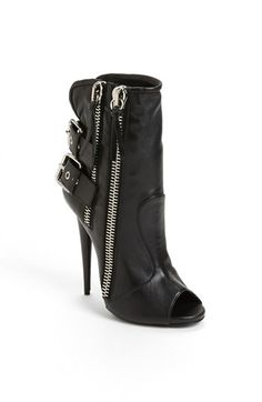 what to wear with these???   Giuseppe Zanotti Zipper Short Boot available at #Nordstrom