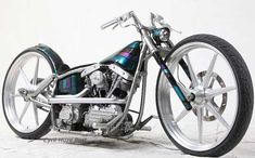 Custom Shovelhead. More Beautiful When Naked. at Cyril Huze Post – Custom Motorcycle News