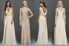 Jenny Packham has just released a bridal gown and bridesmaid dress line. Perfect for repliKate weddings!
