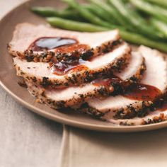 Parmesan Pork Roast Recipe - in the crockpot! Sister-in-law made this New Years Day ... loved it.  Made it myself today ... still love it.  Kids ate every bite! Serve over rice to use up all the yummy gravy.