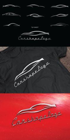 Car Shapes For Logos. Shapes