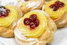 Traditional Italian Zeppole di San Giuseppe | Enjoy this authentic Italian recipe from our kitchen to yours. Buon Appetito!