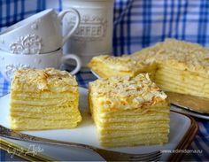 """Торт """"Наполеон нежный"""". Ингредиенты: молоко 3,6%, мука, яйца куриные"""