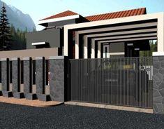 model pagar kayu rumah minimalis home decor pinterest