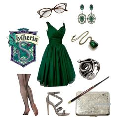 Slytherin style slytherin my house slytherin harry potter, h Slytherin Clothes, Slytherin House, Slytherin Pride, Slytherin Aesthetic, Ravenclaw, Hogwarts Uniform, Slytherin Traits, Harry Potter Kostüm, Harry Potter Outfits