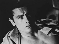 "I dare you to find anyone prettier than Alain Delon. Great actor, too. I ultimately prefer his Mr. Ripley (in ""Plein Soleil"") to Matt Damon's."
