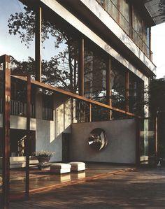 Modern House Design & Architecture Paradise Backyard Studio Mumbai Dear Art Leading Art & Culture Magazine & Database is part of Studio mumbai - Best Ideas For Modern House Design & Architecture Picture Description Paradise Backyard Studio Mumbai Studio Mumbai, Architecture Design, Tropical Architecture, Design Hotel, Loft Interior Design, Exterior Design, Interior Paint, Casa Patio, Loft Interiors