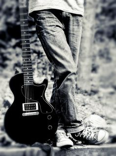 Guitar player by Jeff Goodridge