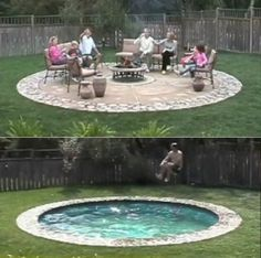 coolest idea for a pool ever!