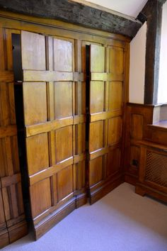 Hidden Spaces, Hidden Rooms, Small Spaces, Wood Panel Walls, Paneled Walls, Wall Panelling, Georgian Interiors, House Interiors, Wood Wainscoting