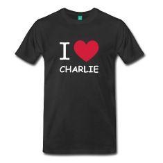 i love CHARLIE,Charlie,I love