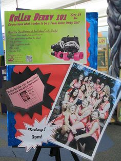 Roller Derby 101 What a cool idea. Promotion
