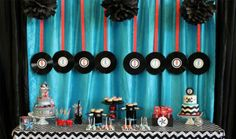 Now this would be a fun party to throw -- a rock n roll baby shower!!
